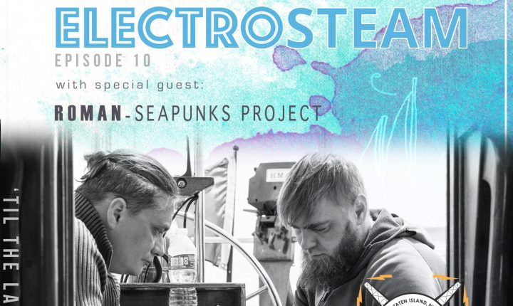 ELECTROSTEAM SHOW(# 10) W.ROMAN (SEAPUNKS) & ED (EDVIQ) – LIVE AT MAKERPARKRADIO.NYC MAY 18, 2018