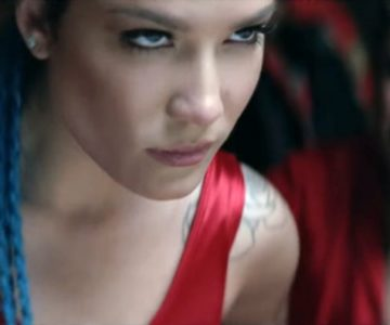 Watch Halsey, Lauren Jauregui Battle in Bloody 'Strangers' Video