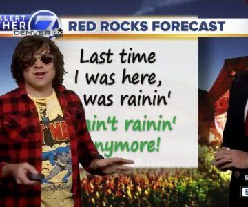 Watch Ryan Adams Deliver Hilarious Weather Report on Denver TV