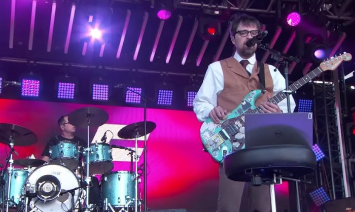 Watch Weezer Perform Synth-Heavy 'Africa' Cover on 'Kimmel'