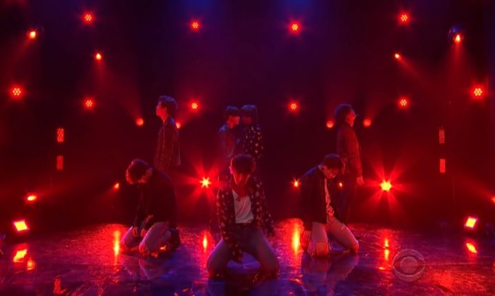 Watch BTS Perform Dramatic 'Fake Love' on 'Corden'
