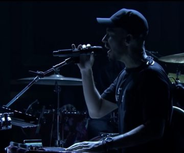 Mike Shinoda Debuts Raw New Song 'Crossing a Line' on 'Fallon'