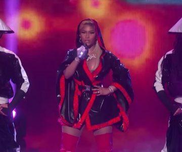 Nicki Minaj Performs Intense 'Chun Li,' 'Rich Sex' at BET Awards