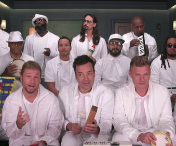 See Backstreet Boys, Fallon Play 'I Want It That Way' With Classroom Instruments