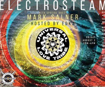 Electrosteam #15 with Mark Salner & Edviq, hosted by Ed Ka – Live at Maker Park Radio 08.03.2018