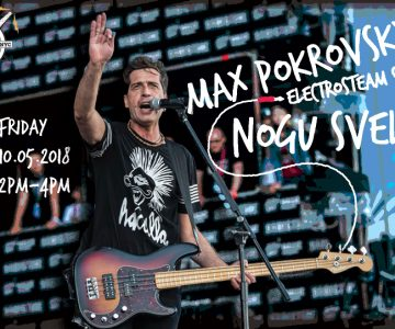 Electrosteam #20 with Max Pokrovskiy(NOGU SVELO) – Live at Maker Park Radio 10.05.2018