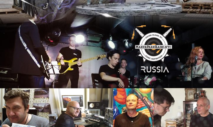 Electrosteam #19 (RUSSIA) – Live at Maker Park Radio 09.21.2018