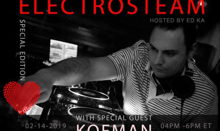 Electrosteam #30 w.KOFMAN – Live at Maker Park Radio 02.14.2019