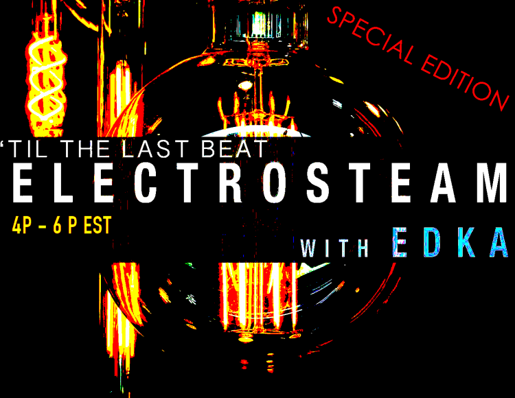 Electrosteam #32 – at Maker Park Radio 2.28.2019