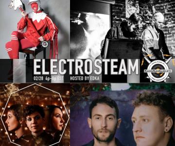 Electrosteam #32 – Live at Maker Park Radio 02.28.2019