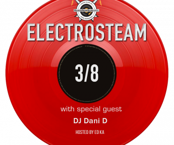Electrosteam #33 w.DJ Dani D – Live at Maker Park Radio 03.08.2019