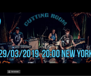 Electrosteam Live – Nogu Svelo! with Max Pokrovsky – Live at The Cutting Room