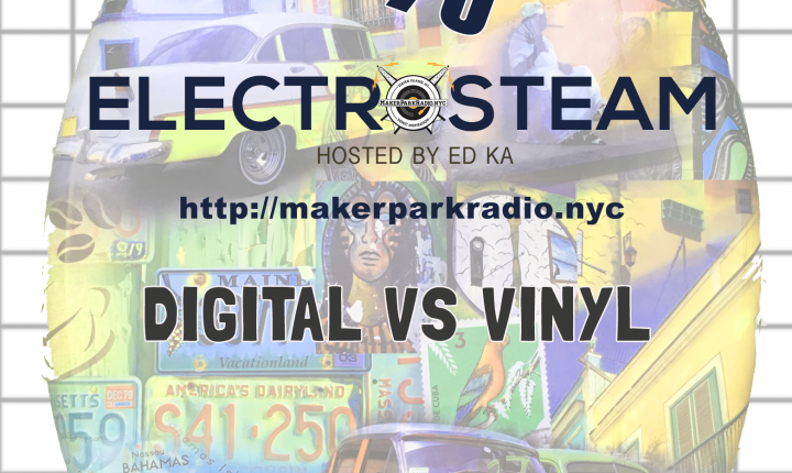 Electrosteam #79 @ Live at Maker Park Radio 01.08.2021